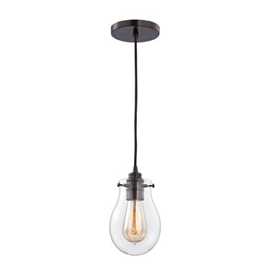 Sarita 1-Light Incandescent Mini Pendant