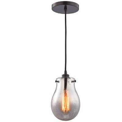 Sarita 1-Light Oil Rubbed Bronze Mini Pendant