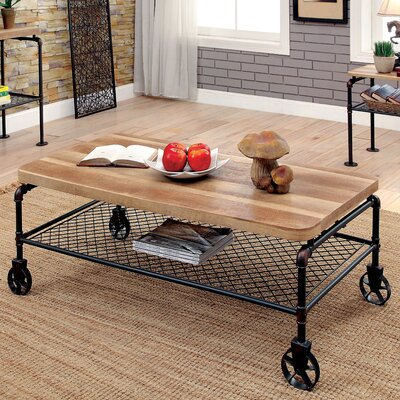 Doran Coffee Table with Magazine Rack
