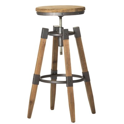 Comsouth Adjustable Height Swivel Bar Stool