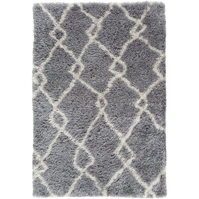 Keith Gray/Beige Area Rug Rug Size: 2 x 3