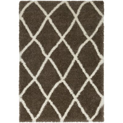 Kolton Brown Area Rug Rug Size: Rectangle 2 x 3