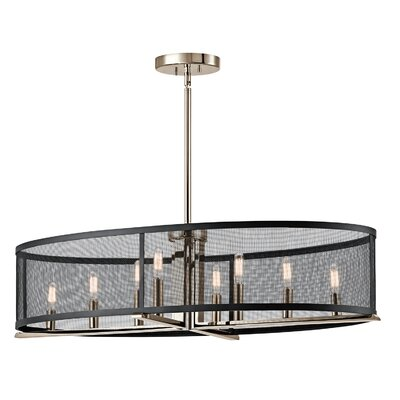 Encinitas 8-Light Kitchen Island Pendant