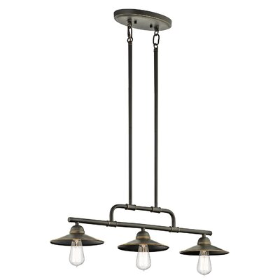 Stef 3-Light Kitchen Island Pendant