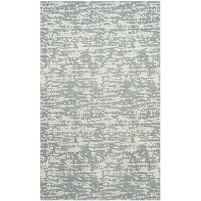 Anika Hand-Woven Beige/Gray Area Rug Rug Size: Rectangle 4 x 6