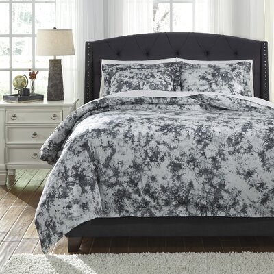 Blasco 3 Piece Duvet Cover Set Size: Queen