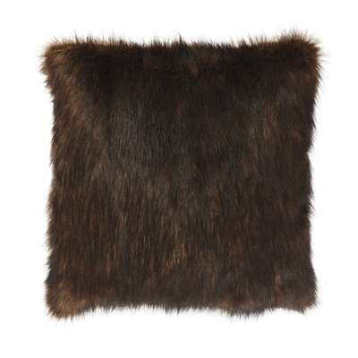 Radner Throw Pillow Color: Brown