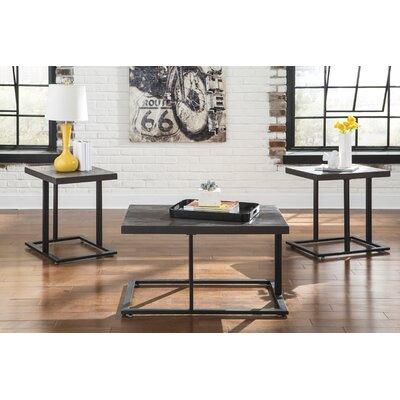 Albert 3 Piece Coffee Table Set