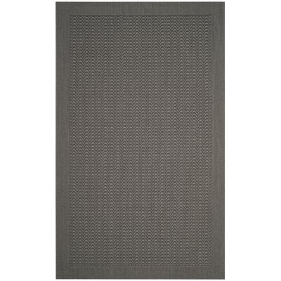 Ximena Gray Area Rug Rug Size: Rectangle 4 x 6