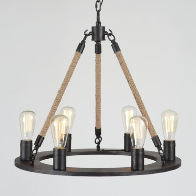 Fairview 6-Light Candle-Style Chandelier