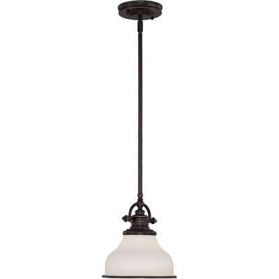 Attles 1-Light Mini Pendant Finish: Palladian Bronze