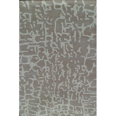 Auburn Grey Abstract Rug Rug Size: 5 x 7