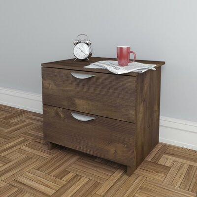 Hillsborough 2 Drawer Nightstand