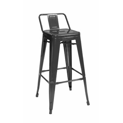 Shoshoni 26 Bar Stool Finish: Black