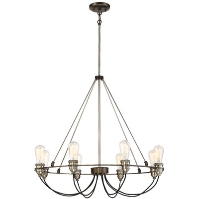 Holden 8-Light Candle-Style Chandelier