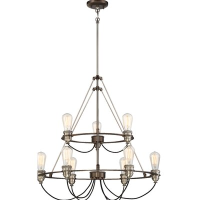 Holden 9-Light Candle-Style Chandelier