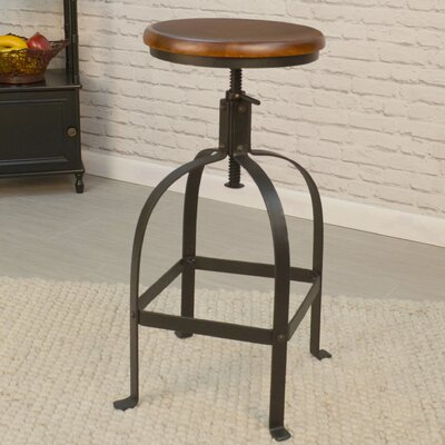 Ardclinis Adjustable Height Swivel Bar Stool