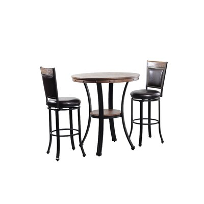 Archstone 3 Piece Pub Table Set
