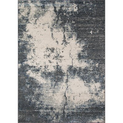 Terry Gray Area Rug Rug Size: Rectangle 53 x 76