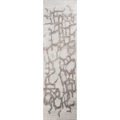 Davis Hand-Tufted�Natural Area Rug Rug Size: Runner 23 x 8