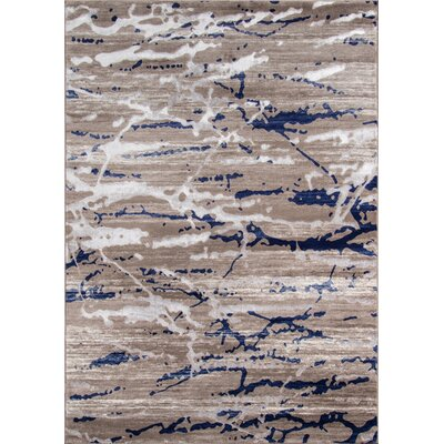 Pierce Sand Area Rug Rug Size: Rectangle 86 x 116