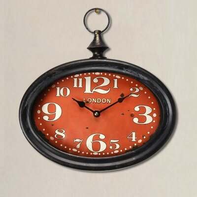 Retro Pocket Large Numbers Face Wall Hanging Clock TADN7363 34279406
