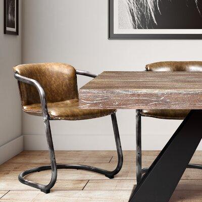 Zybert Armchair Upholstery: Cognac