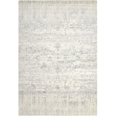 Arabelle Abstract Ivory Area Rug Rug Size: 99 x 139