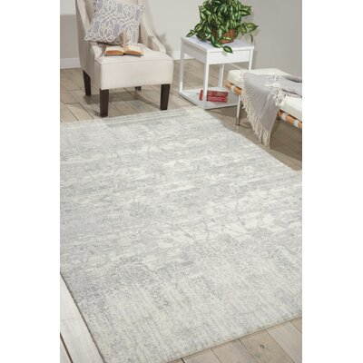 South Aurora Ivory Area Rug Rug Size: 8'6