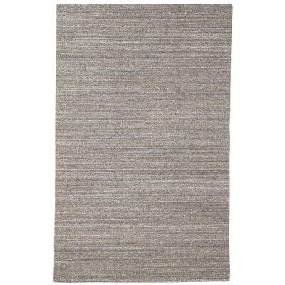 Bezu Hand-Woven Brown Area Rug Rug Size: 5 x 8