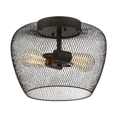 Woodland 2-Light Flush Mount