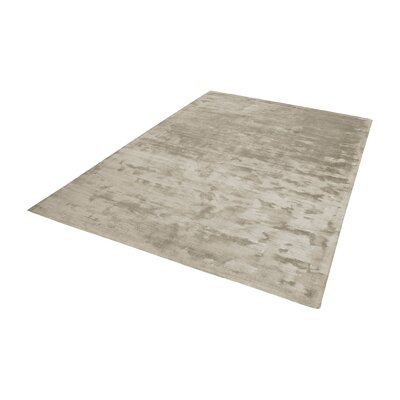 Loretta Hand-Woven Stone Area Rug Rug Size: Runner 27 x 8