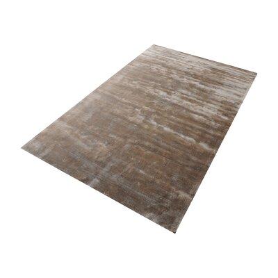 Blake Hand-Woven Sand Area Rug Rug Size: 9 x 12