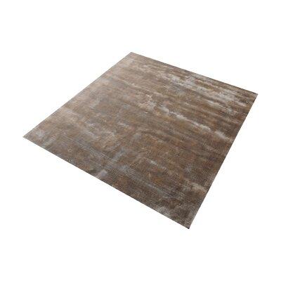 Loretta Hand-Woven Sand Area Rug Rug Size: Square 6