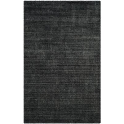 Zowie Hand-Woven Graphite Area Rug Rug Size: Rectangle 6 x 9