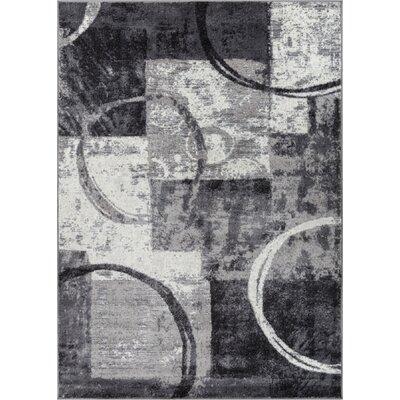Southwest Arapahoe Gray Area Rug Rug Size: 710 x 910