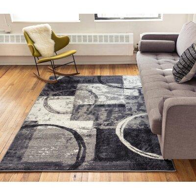Southwest Arapahoe Gray Area Rug Rug Size: 53 x 73