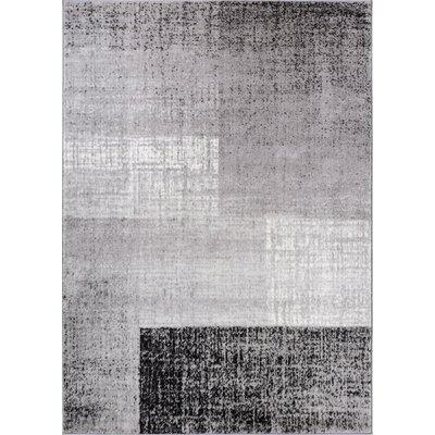 Fabiola Gray Area Rug Rug Size: 710 x 910