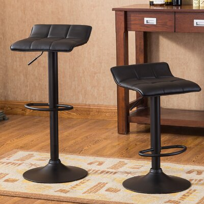 Yoder Adjustable Height Swivel Bar Stool