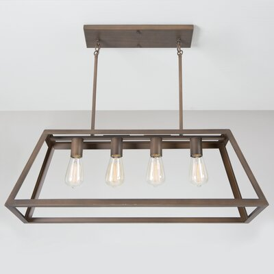Yolla 4-Light Kitchen Island Pendant
