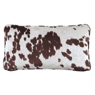 Athol Lumbar Pillow Color: Brown