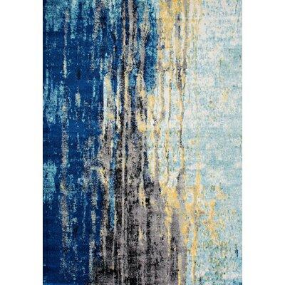 Stevensville Blue Area Rug Rug Size: 10 x 14