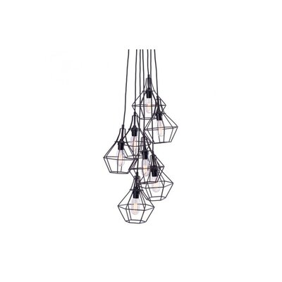 Silke 7-Light Cascade Pendant