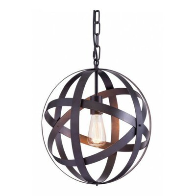 Malwae 1-Light Golbe Pendant