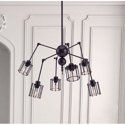 Aleksandra 6-Light Sputnik Chandelier
