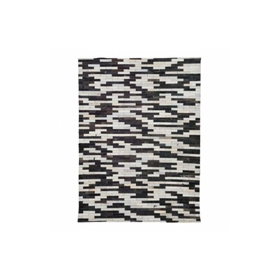 Desert Hot Springs Black/Cream Area Rug