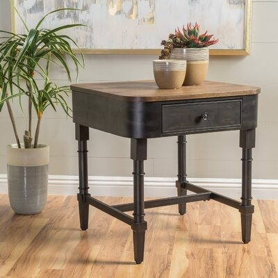 Kensington Square Wood End Table