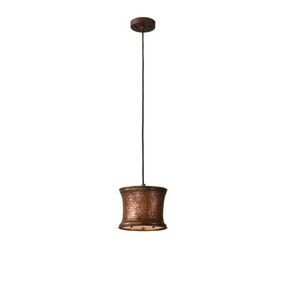 Lisandra 1-Light Mini Pendant Finish: Copper