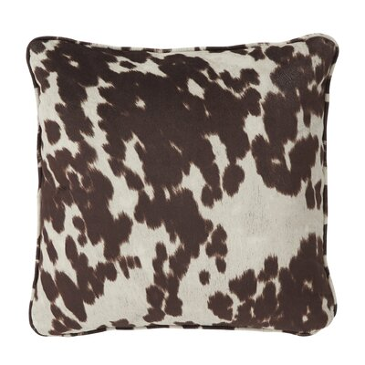 Eckley Throw Pillow Color: Brown