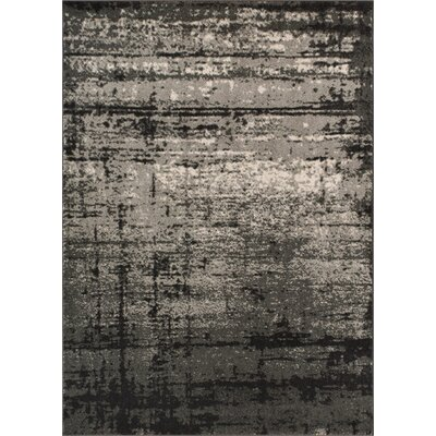 Coolidge Modern Distressed Gray Area Rug Rug Size: 23 x 311